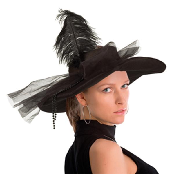 černý-s-péřím-klobouk,Ladana