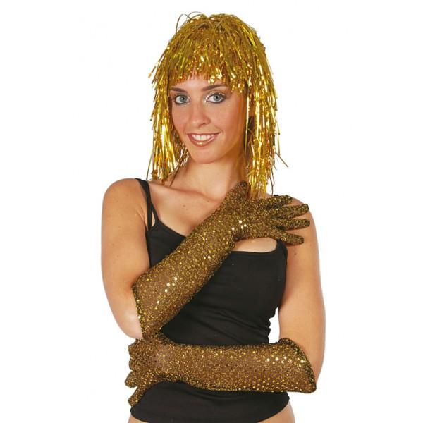 flitrove-rukavice-46-cm-zlate, Ladana