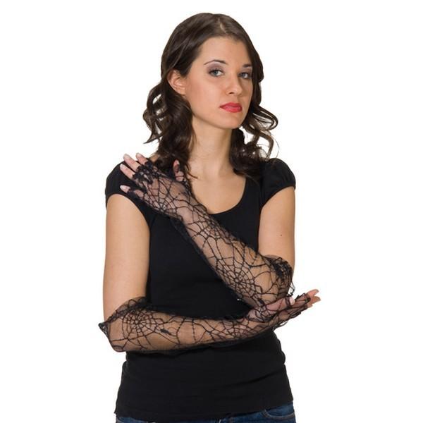 rukavice-bezprste-pavucina, Ladana