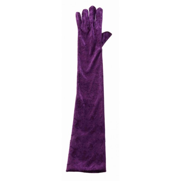 rukavice-sametove-fialove, ladana