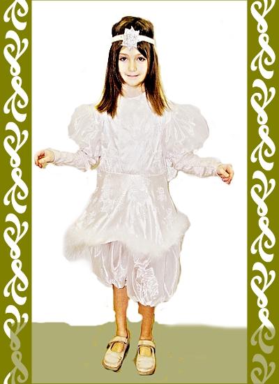 kostým anděl, půjčovna karnevalových kostýmů Ladana