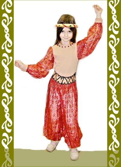 kostým orientu, půjčovna maškarné kostýmy Praha, Ladana