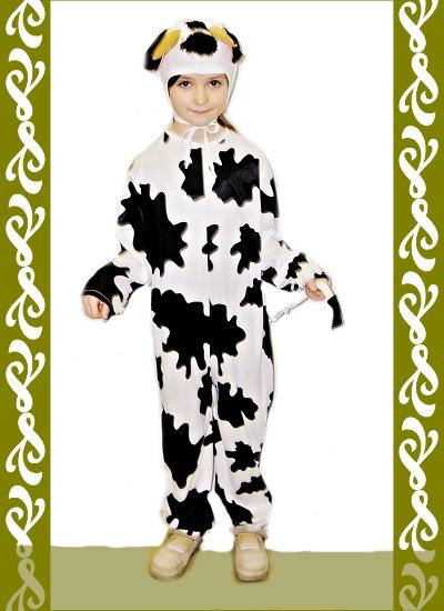 kostým kravička, karnevalové kostýmy Praha, Ladana
