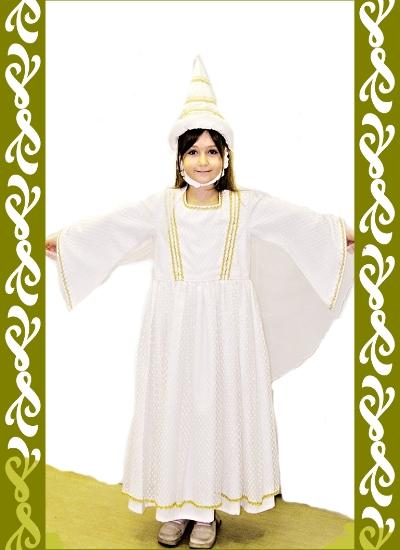 kostým bílá paní, půjčovna Praha, Ladana