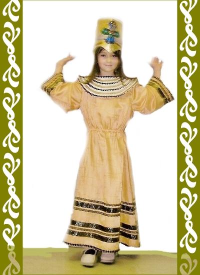kostým Kleopatra, půjčovna dětských kostýmů Praha, Ladana