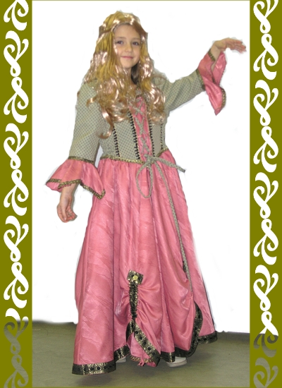kostým princezna, půjčovna historických kostýmů Praha, Ladana