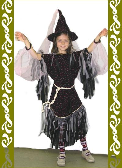kostým čarodějnice, maškarní kostýmy Praha, Ladana