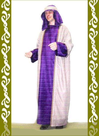 kostým Arab, půjčovna maškarní kostýmx Praha, Ladana