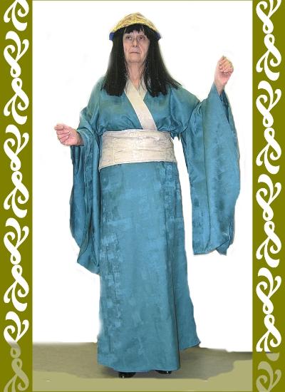 kostým Japonsko, půjčovna karnevalových kostýmů Praha, Ladana