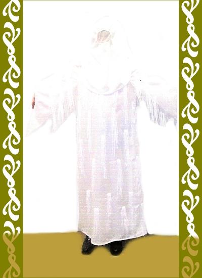kostým bílý duch, půjčovna maškarních kostýmů Ladana