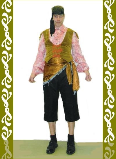 kostým cikán, půjčovna maškarních kostýmů Praha, Ladana