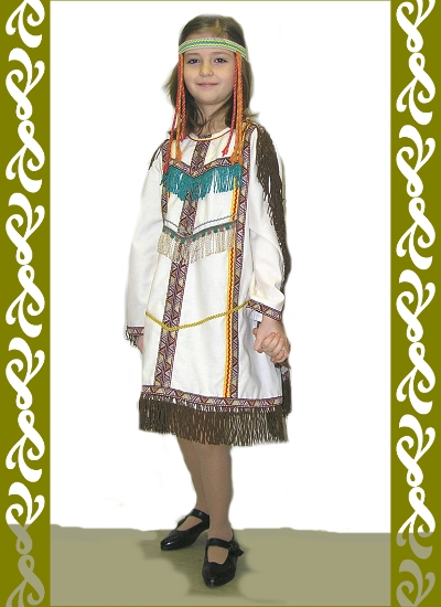 kostým indiánka, půjčovna maškarních kostýmů Praha