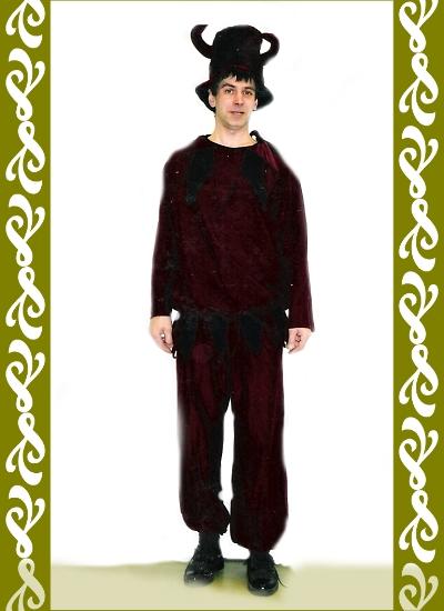 kostým kašpar, půjčovna maškarní kostýmy Praha Ladana