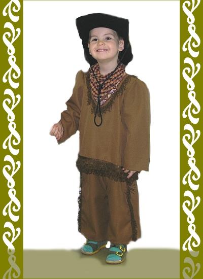 kostým kovboje, půjčovna dětské maškarní kostým Praha, Ladana