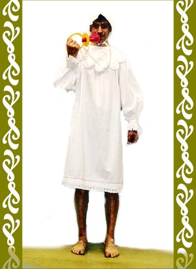 kostým miminko, půjčovna karnevalových kostýmů Praha Ladana