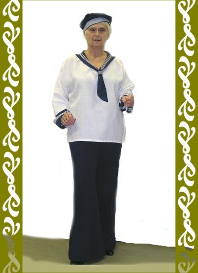 kostým námořník, půjčovna karnevalové kostýmy Praha, Ladana