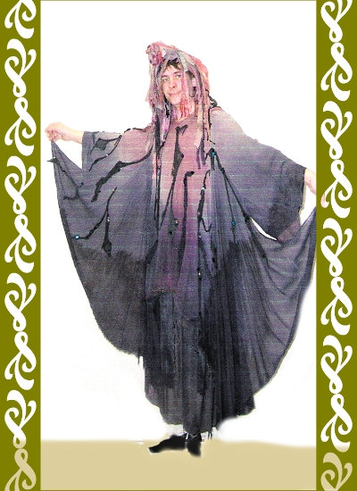 kostým strašidlo, půjčovna karnevalových kostýmů Ladana