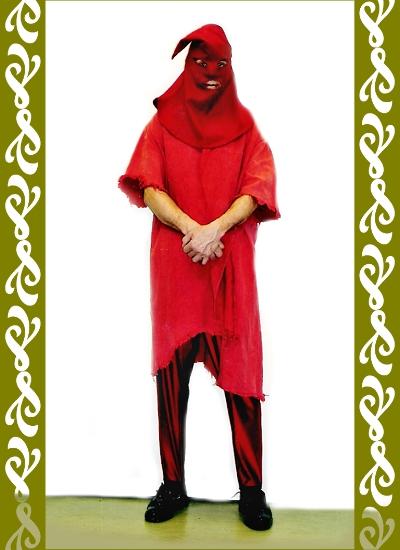 kostým kat, půjčovna karnevalových kostýmů Praha Ladana