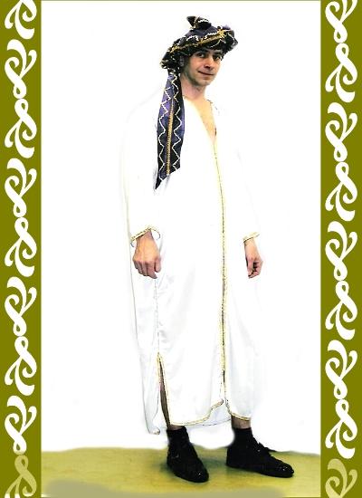kostým Arab, půjčovna maškarních kostýmů Praha, Ladana