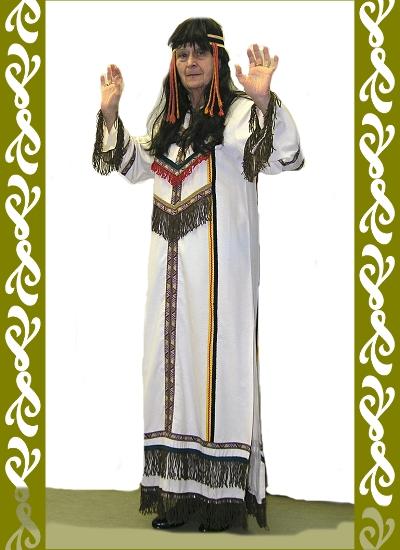 kostým Indián, půjčovna maškarních kostýmů Praha, Ladana