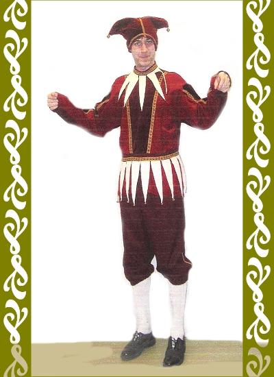 kostým Kašpárek, půjčovna karnevalových kostýmů Praha Ladana
