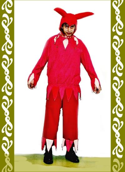 kostým Kašpárek, půjčovna maškarní kostýmy Praha Ladana