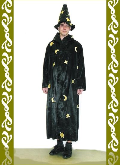 kostým kouzelník, půjčovna maškarních kostýmů Praha, Ladana
