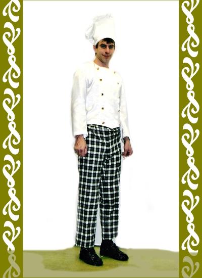 kostým kuchař, půjčovna karnevalových kostýmů Praha Ladana