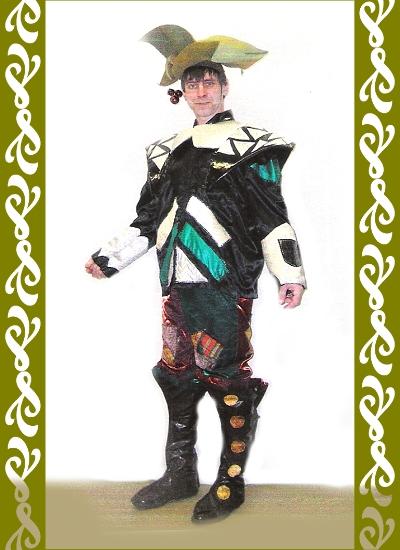 kostým lesní pán, maškarní kostýmy Praha
