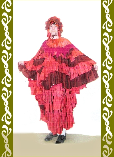 kostým vítr, půjčovna karnevalových kostýmů Ladana