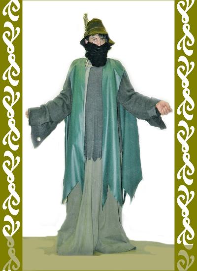 kostým Krakonoš, půjčovna karnevalových kostýmů Praha Ladana