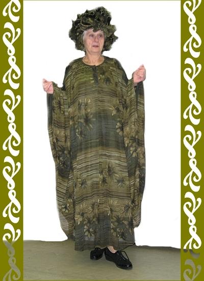 kostým lesní paní, půjčovnakarnevalových kostýmů Praha, Ladana