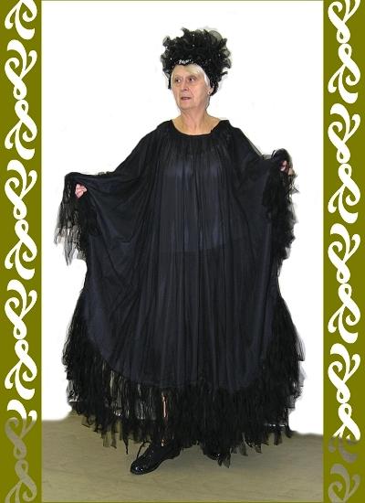 kostým večernici, půjčovna maškarní kostýmy Praha Ladana
