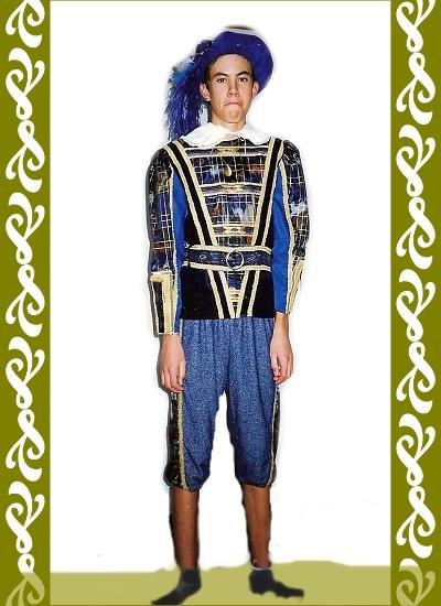 renesanční kostým, půjčovna historických kostýmů Praha, Ladana