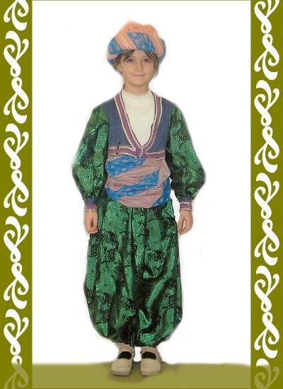 kostým turek, půjčovna maškarních kostýmů Praha, Ladana