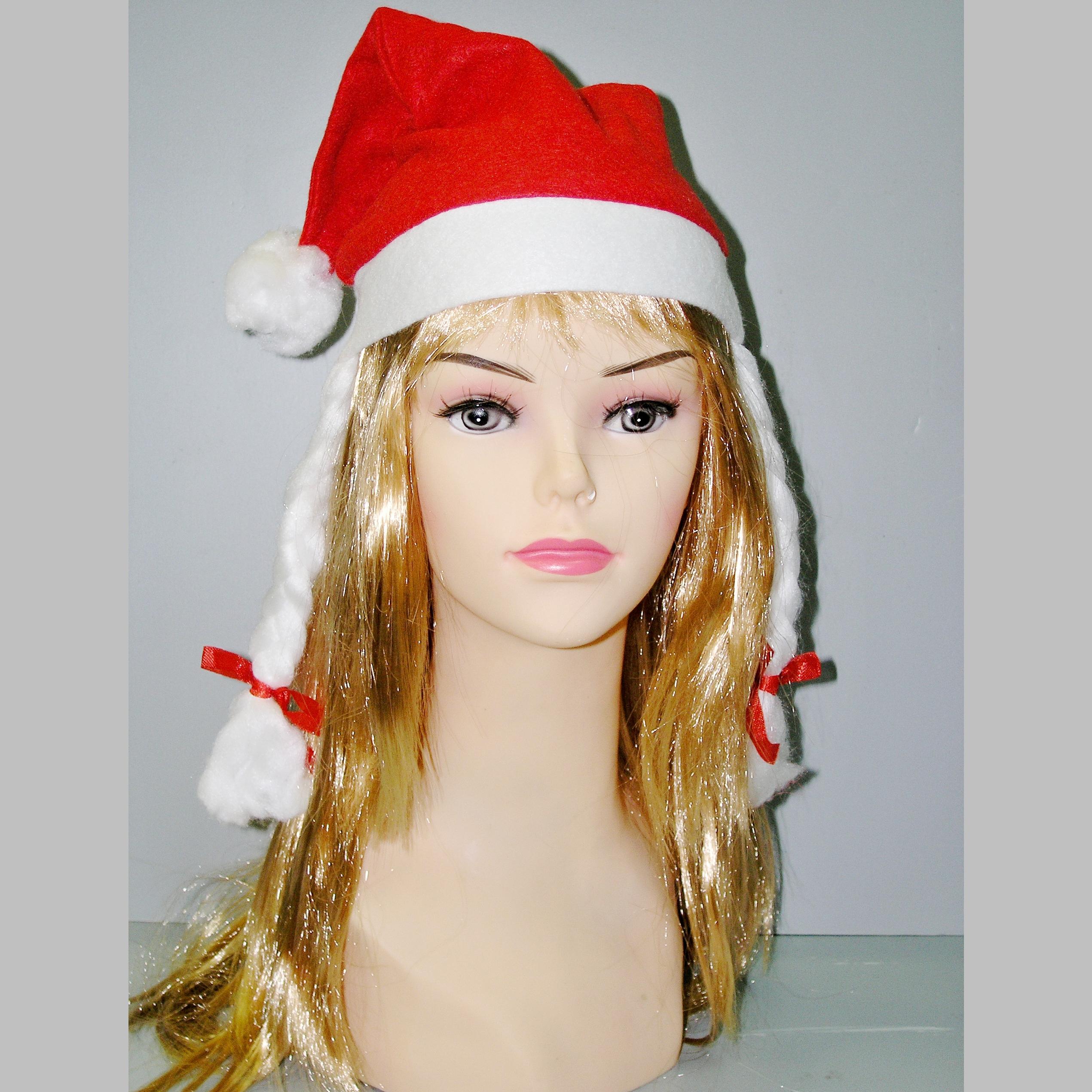čepice s copy Santa Claus, Ladana