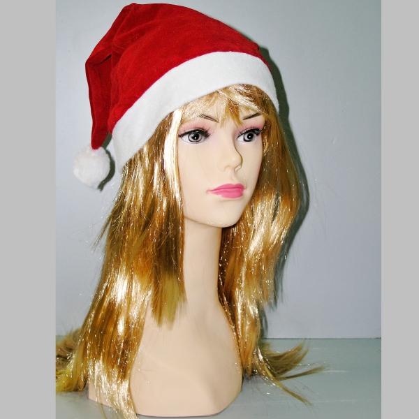 červená čepice Santa Claus, Ladana