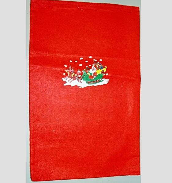 červený pytel Santa Claus, Ladana