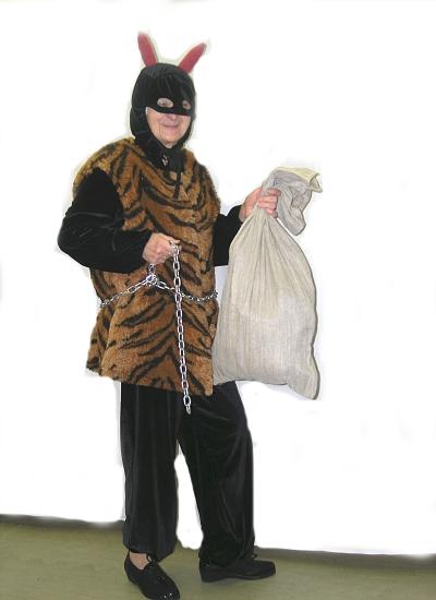 kostým na čerta, půjčovna