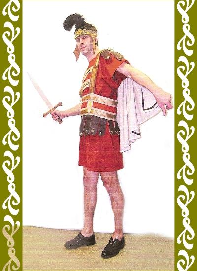 kostým Řím, historické kostýmy půjčovna kostýmů Ladana