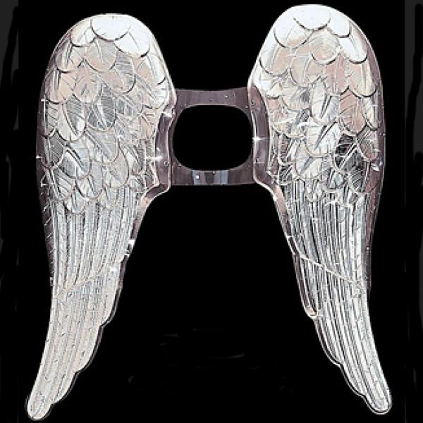 Andělské křídla stříbrná, velká