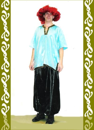 kostým orient, půjčovna maškarní kostýmy Ladana