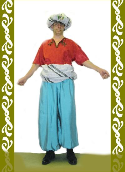 kostým Turek, půjčovna karnevalových kostýmů Ladana