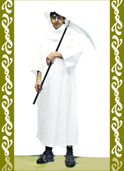 kostým smrtka, půjčovna maškarní kostýmy Ladana