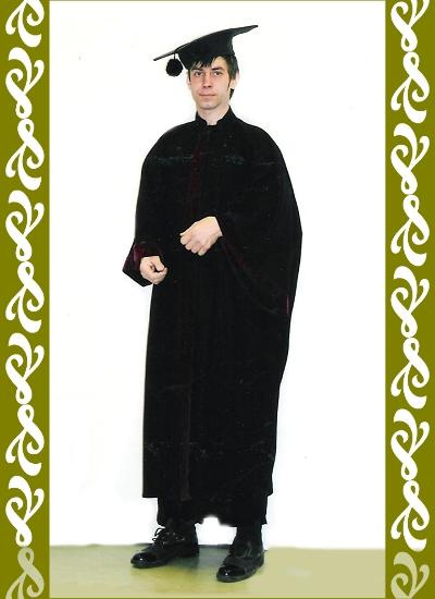 kostým student, půjčovna historické kostýmy Ladana