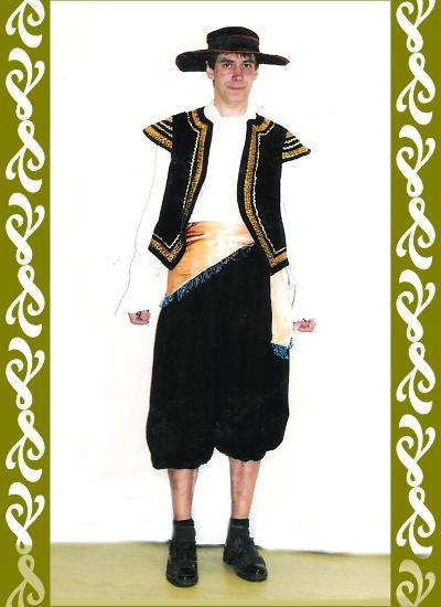 kostým toreadora, půjčovna karnevalových kostýmy Ladana