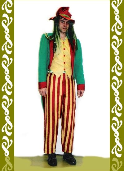 kostým vodník, půjčovna karneval kostýmy Ladana