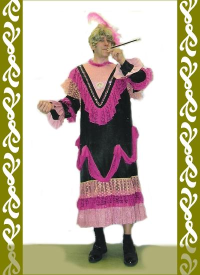 kostým Bordel mamá, půjčovna maškarních kostýmů Ladana