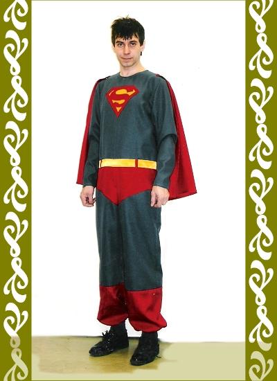 kostým Supermana, půjčovna karnevalových kostýmů Ladana