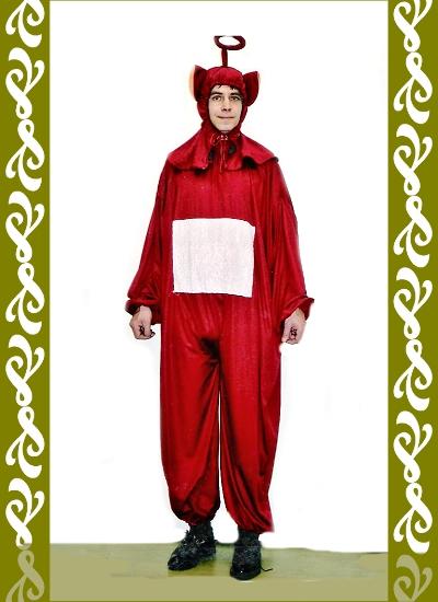 kostým Teletubbiese, půjčovna karnevalových kostýmů Ladana